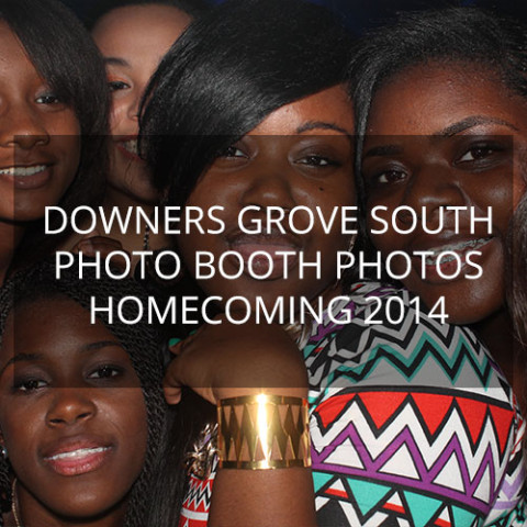 Downers Grove South Homecoming 2014 – Photo Booth Pics