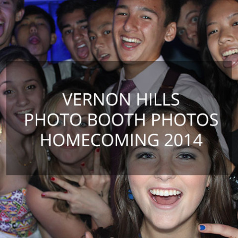 Vernon Hills Homecoming 2014 – Photo Booth Pics